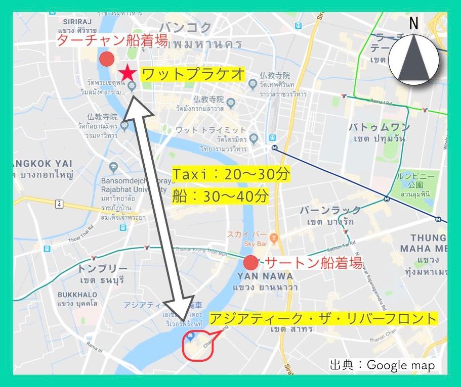 地図(ワットプラケオ)12