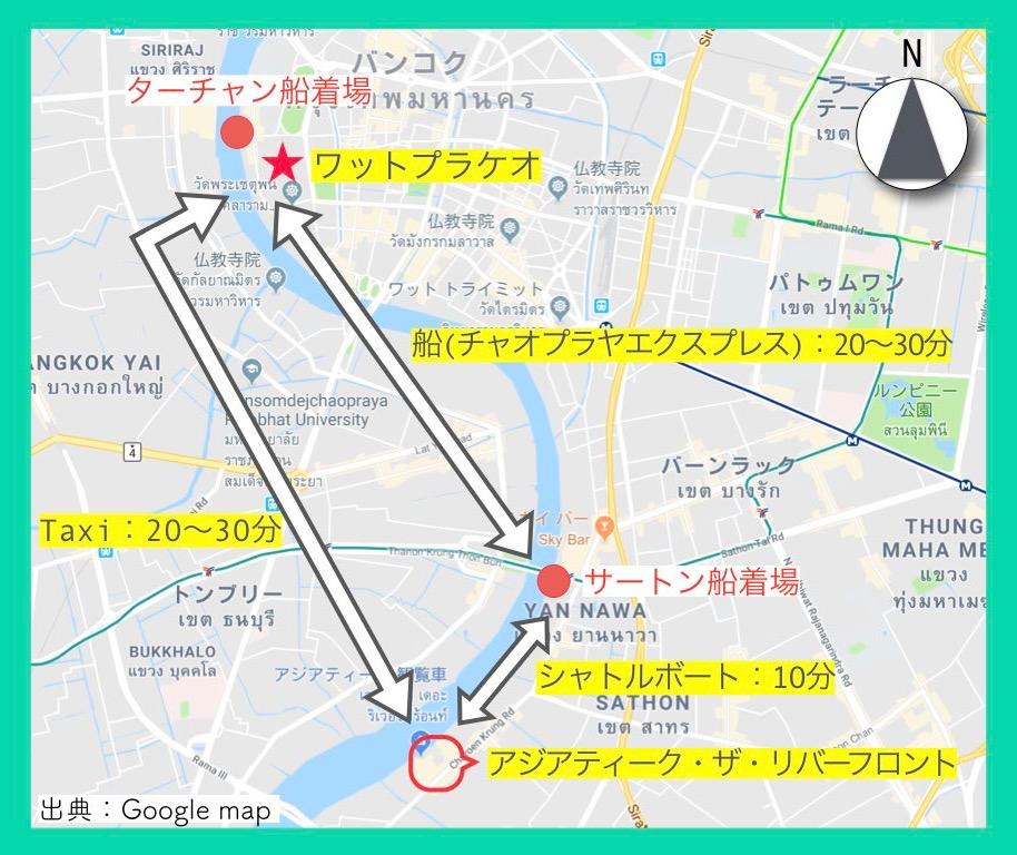 地図(ワットプラケオ2)