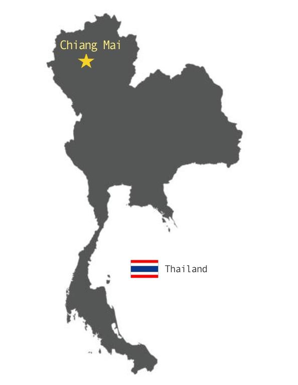 地図(チェンマイ)
