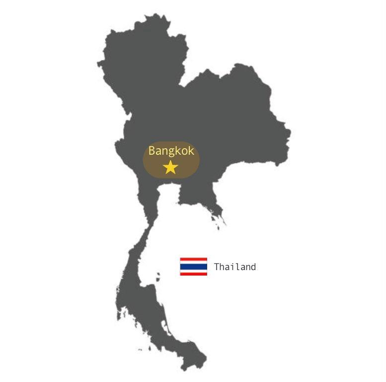 地図(バンコク郊外)
