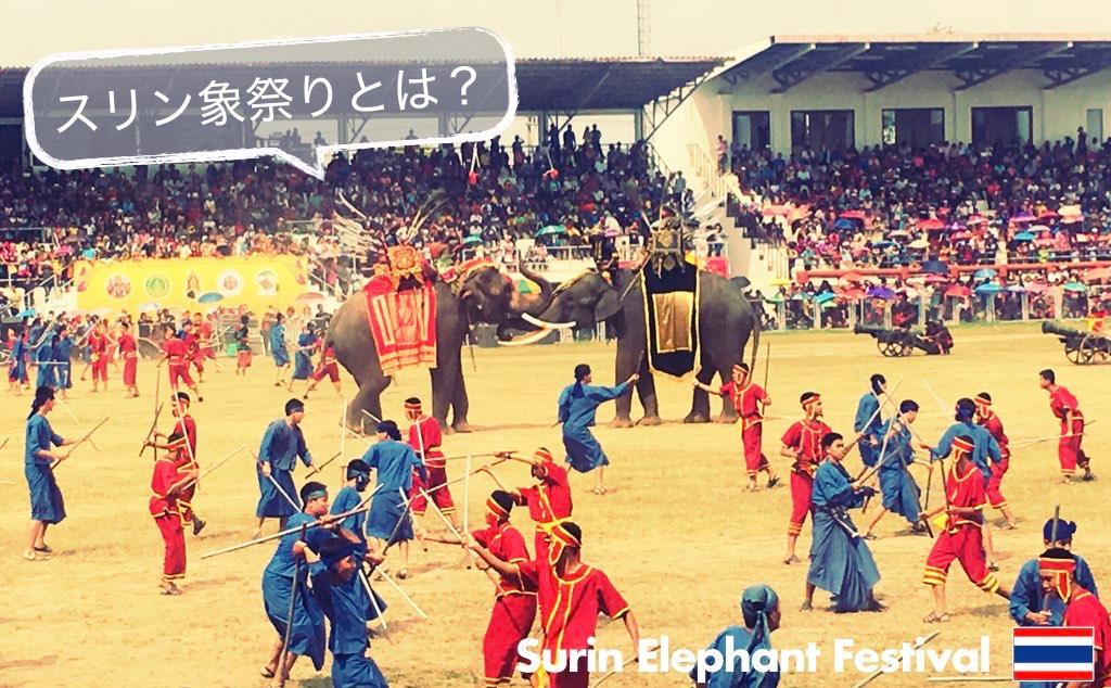 記事中画像(スリン象祭り)1