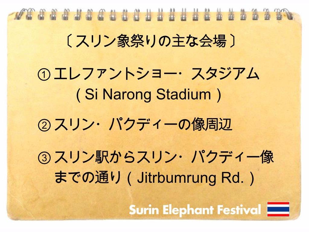 記事中画像(スリン象祭り)8