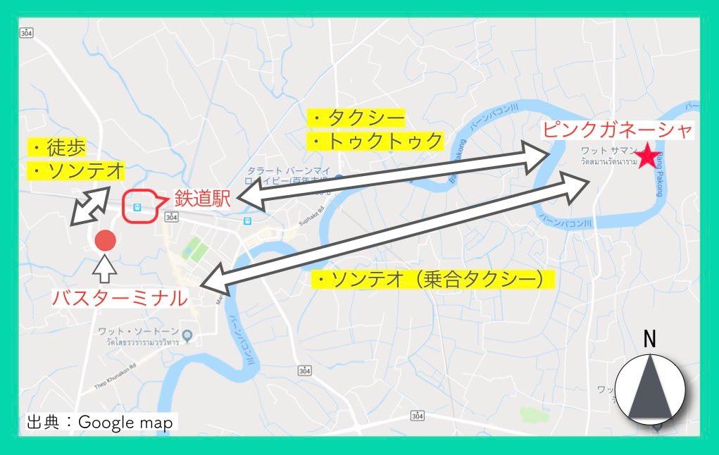地図(ピンクガネーシャ・行き方)10