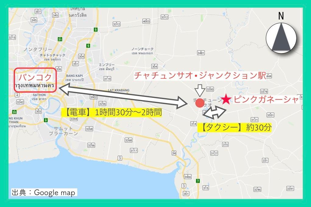 地図(ピンクガネーシャ・行き方)11