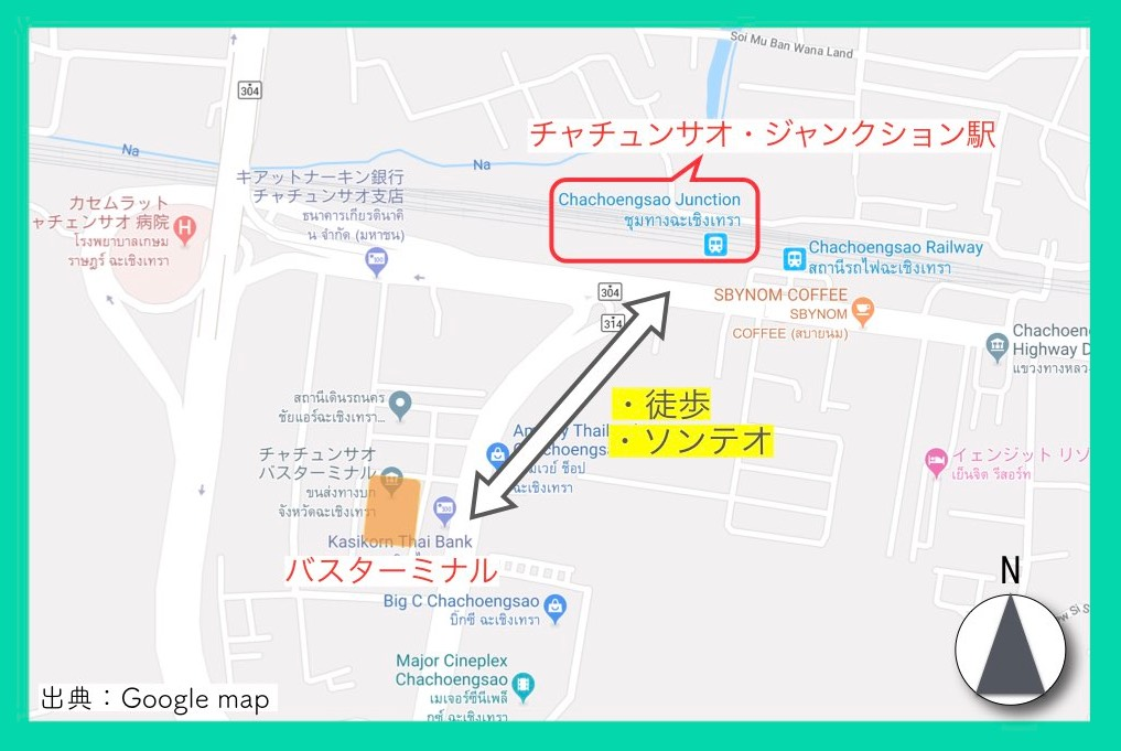 地図(ピンクガネーシャ・行き方)14
