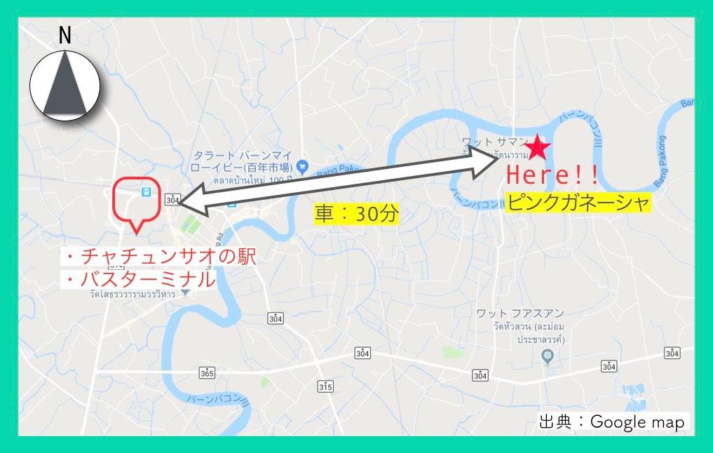 地図(ピンクガネーシャ・行き方)3
