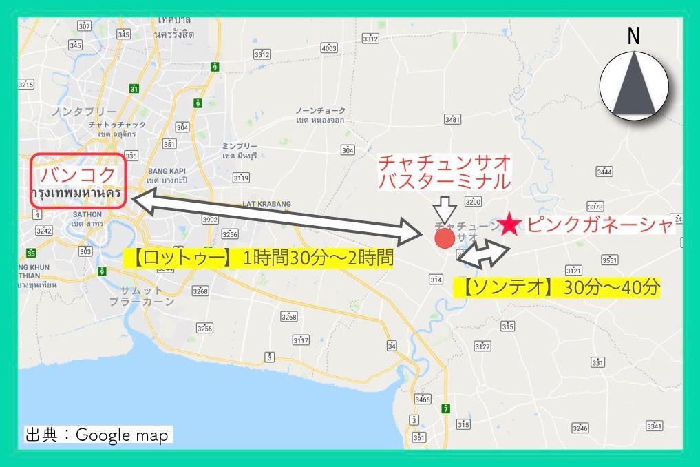 地図(ピンクガネーシャ・行き方)7